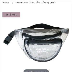 Sweetener Tour Ariana Grande Transparent Sling Bag
